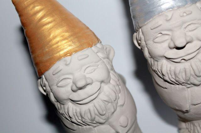 Diy gips beton gartenzwerg diycarinchen geschenke for Weihnachtsideen dekoration