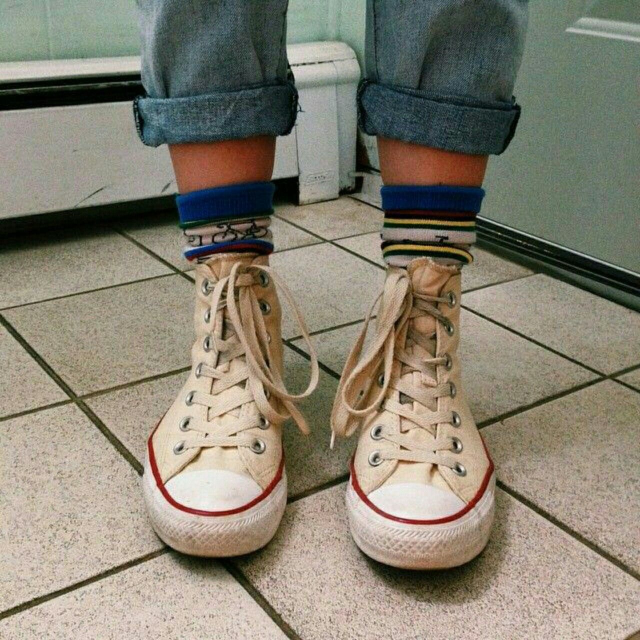 90s fashion converse