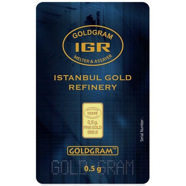 In Assay Rand Elephant Mirage - SKU #91448 1 oz Gold Bar