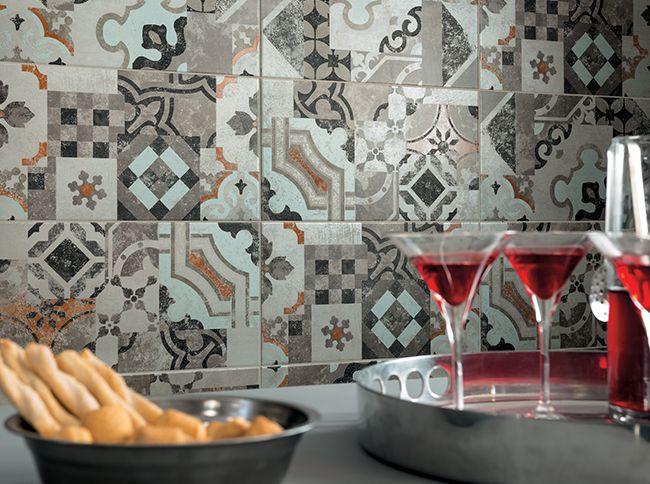 Le patchwork des carreaux céramiques