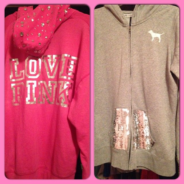 ♥ pink sweaters!
