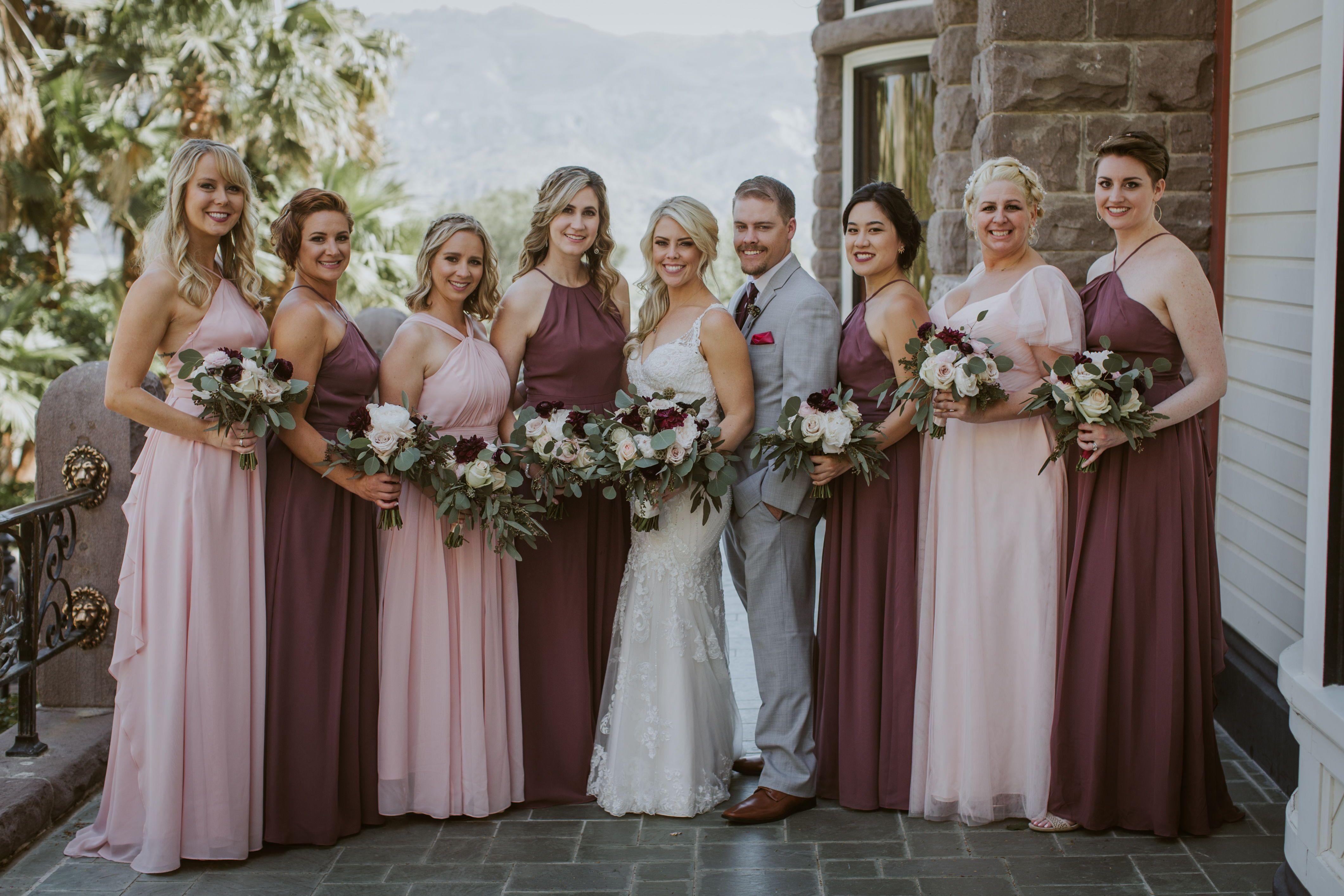 Pin On Bride And Bridesmaids