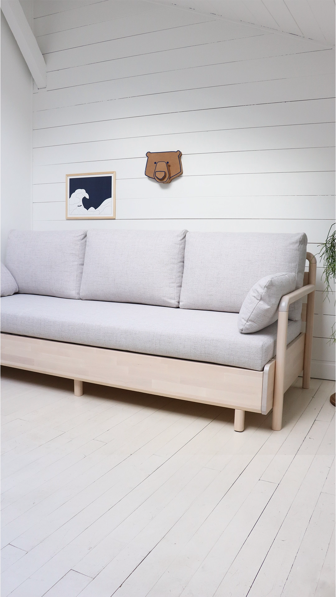 L Incroyable Systeme De Notre Canape Lit Boysbedroom Canape Canapelit Incroyable Li In 2020 Sofas For Small Spaces Sofa Bed Design Sofa Bed For Small Spaces
