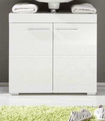 Waschbeckenunterschrank Weiß Hochglanz Jetzt bestellen unter