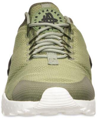 check out 5b127 8c965 Nike Women s Air Huarache Run Ultra Running Sneakers from Finish Line -  Green 8