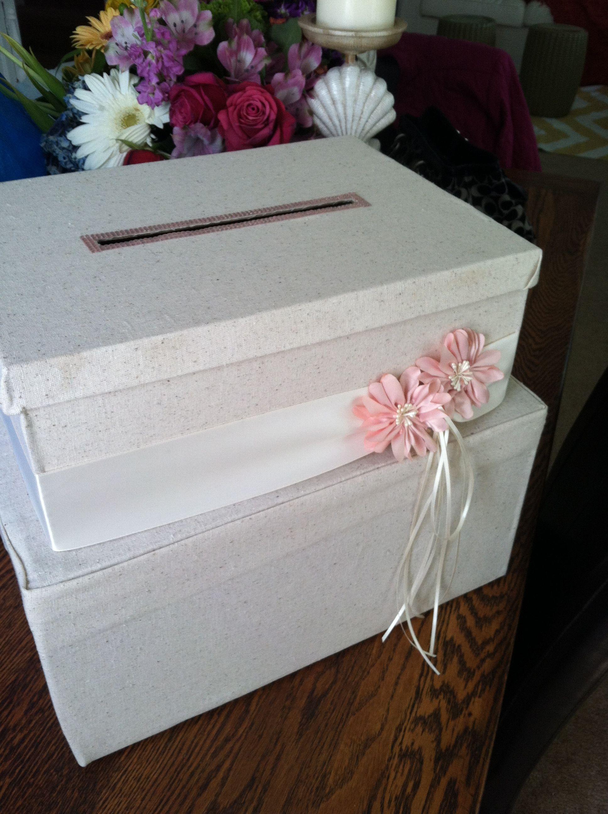 Card box for bridal shower bridal shower card box