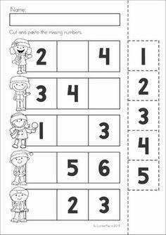 Winter Preschool No Prep Worksheets Activities Com Imagens