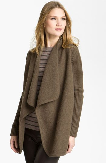 Vince Draped Boiled Wool Jacket At Nordstrom Fashion Love