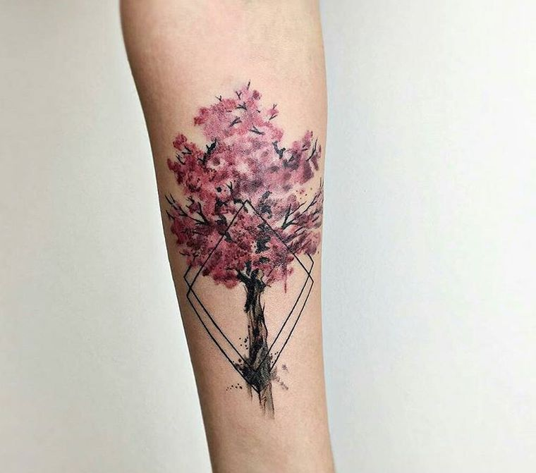 Flower Tattoo 10 Authentic Tattoo Concepts And Their Meanings Cherry Blossom Tree Tattoo Cherry Blossom Tattoo Cherry Tree Tattoos