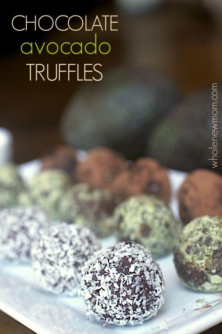 Chocolate Avocado Truffles - This easy dessert recipe is super healthy, gluten-free, vegan, and paleo.