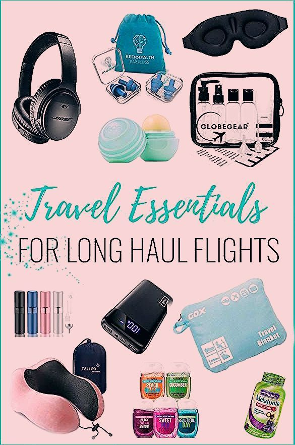 Photo of Travel essentials for long haul flights – What to pack in a carry on!