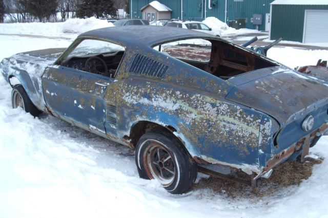 1967 Ford Mustang Fastback Project Car Build Eleanor Or Shelby