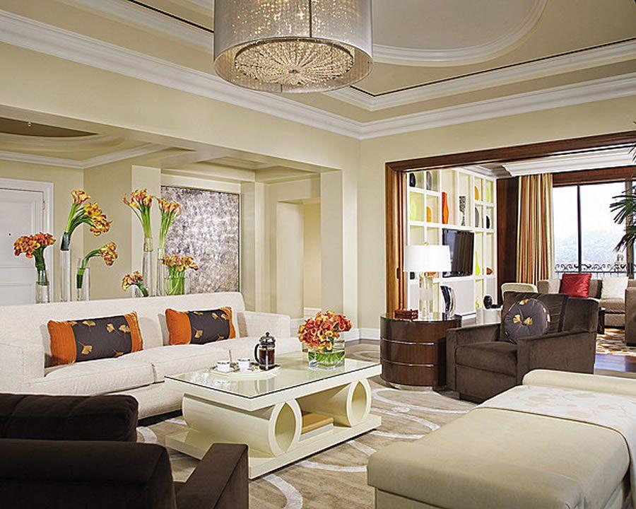 Designer Living Rooms California Luxury Penthouse Suite