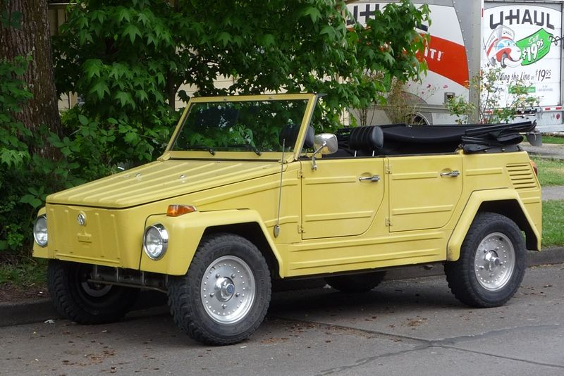 Curbside Classic Vw Type 181 Thing Volkswagen 181 Classic