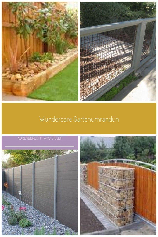 Wunderbare Gartenumrandung Zaun Holz Design Ideen Gardenia Gardena Landscape In 2020 Zaune Holz Garten Landschaftsbau Garten