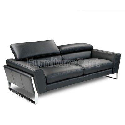 Athens Italian Leather Sofa