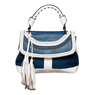 Spectator Bucket Bag Navy now featured on Fab.