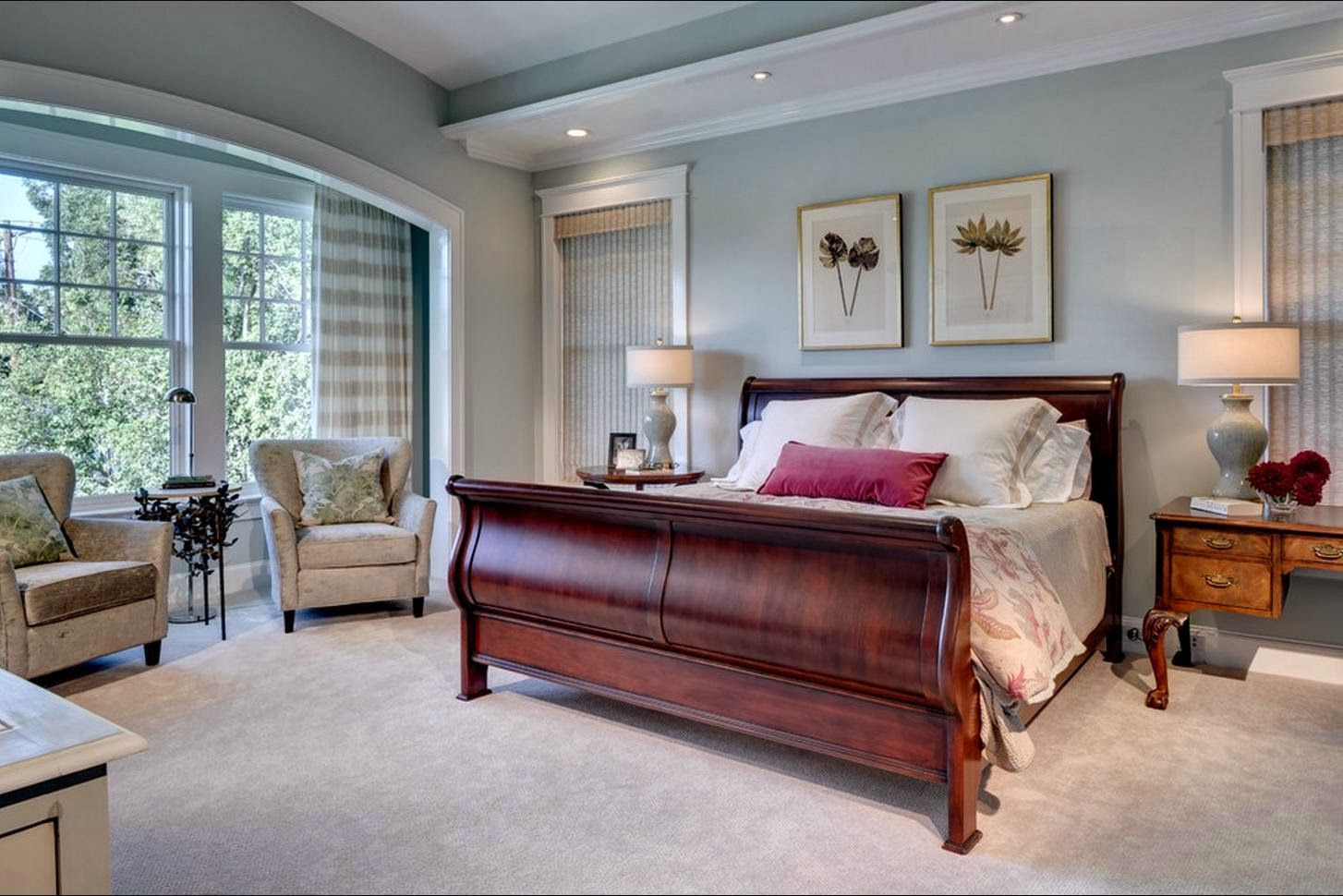 Master Bedroom Paint Ideas With Dark Furniture Master Bedroom