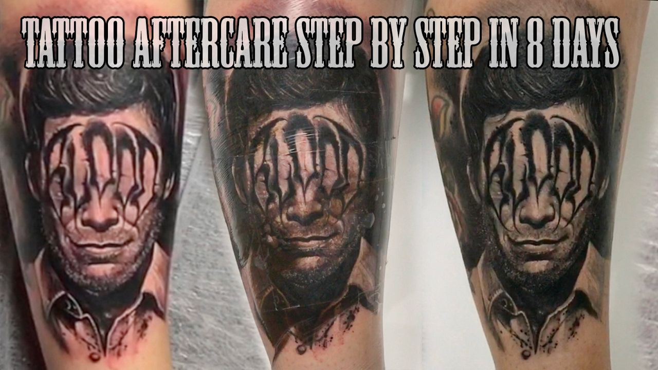 BEST TATTOO AFTERCARE STEP BY STEP IN 8 DAYS Tattoo