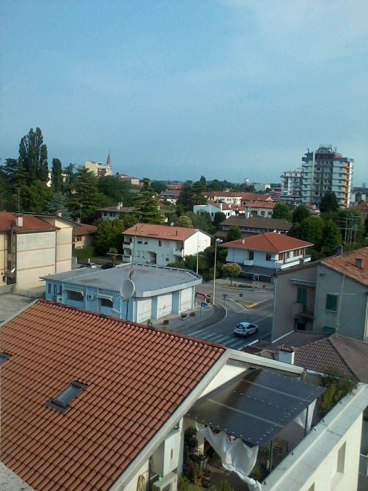 Portogruaro.....Panorama dalla finestra di casa. .