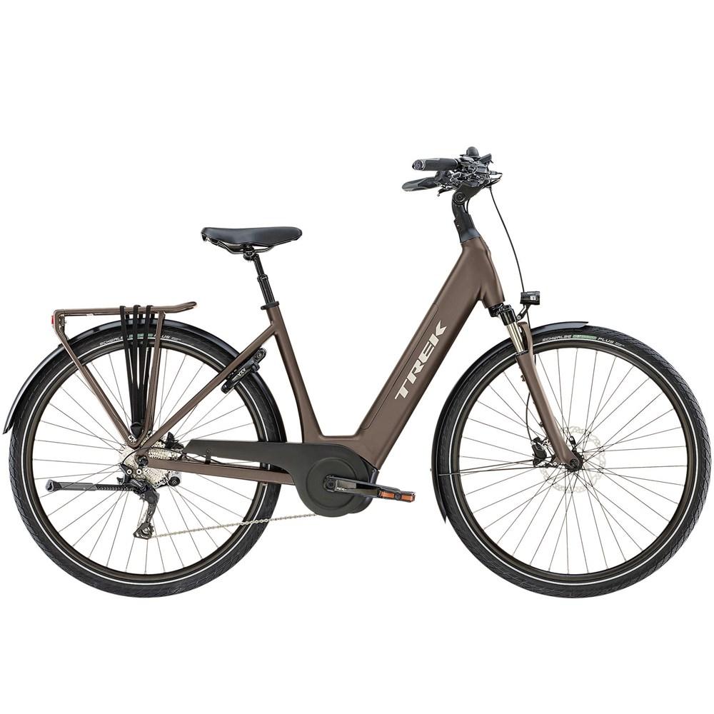 2019 Trek Tm4 Lowstep Electric Hybrid Bike In Brown Bike Bike