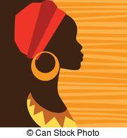 Silueta Perfil De Mujer Africana Pinturas Africanas Negritas Africanas Arte De Africa Y Afroamericano