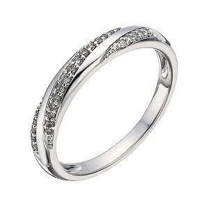 9ct White Gold 10 Point Diamond Ring Product Number 1288261 Perfect Ring White Gold Rose Gold Wedding Bands