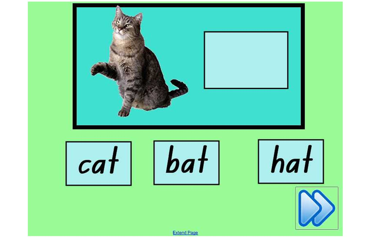 Matching Cvc Words To Pictures A Self Correcting Activity