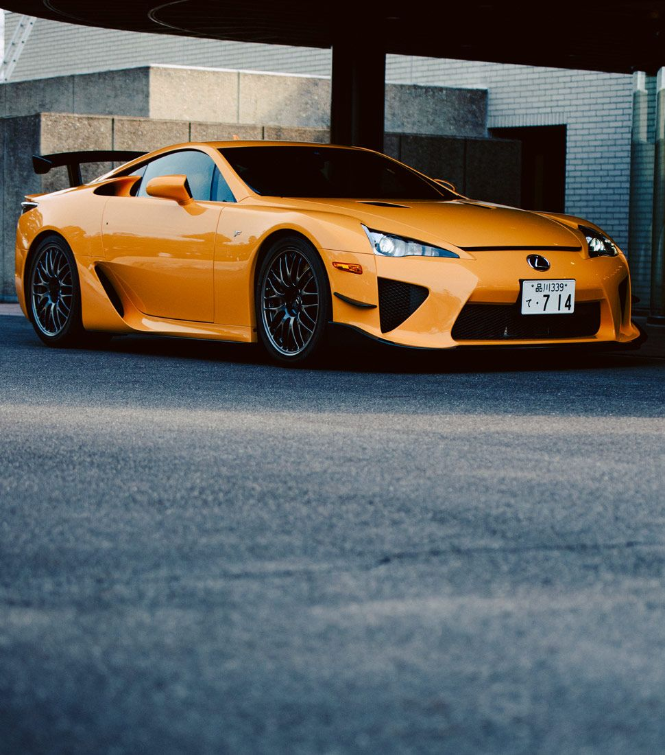 A Look At Why The Lexus LFA, Despite So Much Evidence To The Contrary, Is  The Best Car Japan Has Ever Made.