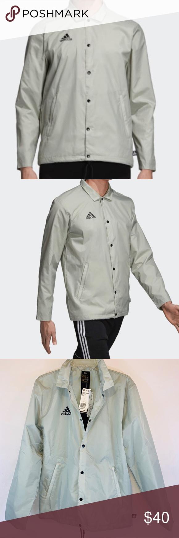 Adidas Tango Tan Stadium Jacket NWT Regular fit is wider at