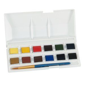 Arts Crafts Sewing Kids Watercolor Paint Brushes Watercolor