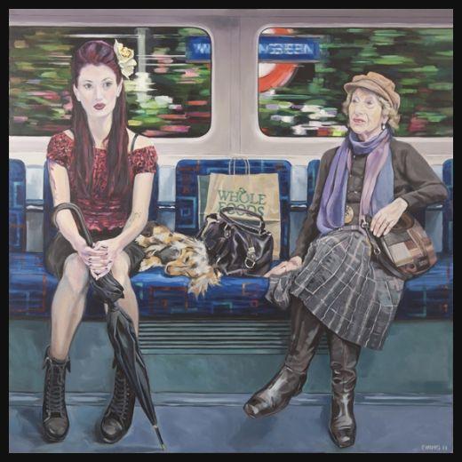 картинки человечки в метро души тебе