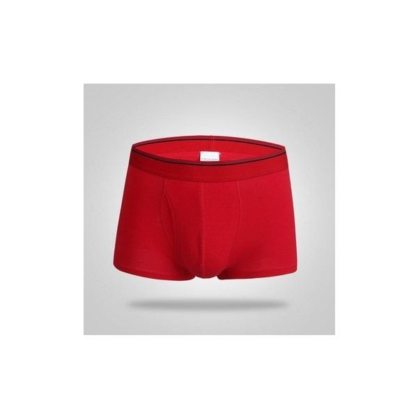Mens Underwear Boxers Briefs Stretch Love Baseball Convex U Bag