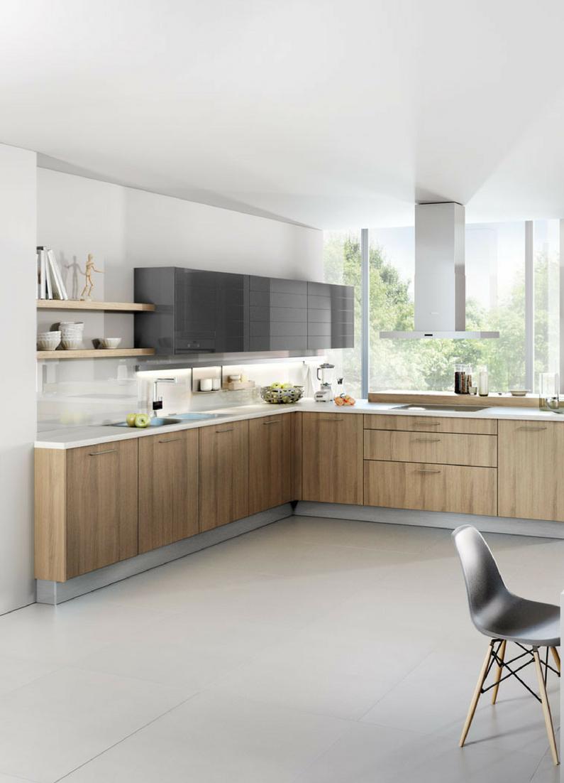 Küchenideen offen küchen in lform vorteile nachteile beispiele und bilder für