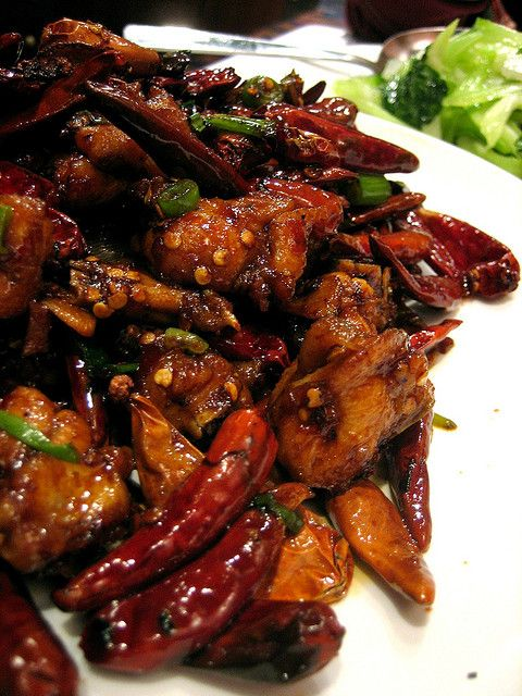 Chong Qing Dry Spicy Chicken Spicy Chicken Recipes Szechuan Recipes Chinese Chicken Recipes