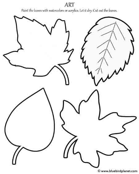 Free Printables For Kids Fall Leaf Template, Leaves Template Free  Printable, Leaf Template
