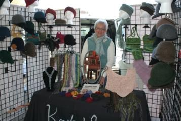 Jean Wolter of Knits and Glitz, creates felted hats and bags designed and adorned using lovely combinations of colors and textures. Most bags are lined. Some matching scarves and hats using ultra soft and warm yarns such as alpaca and silk. Comfortable and luxurious accessories. Some items embellished with beadwork.