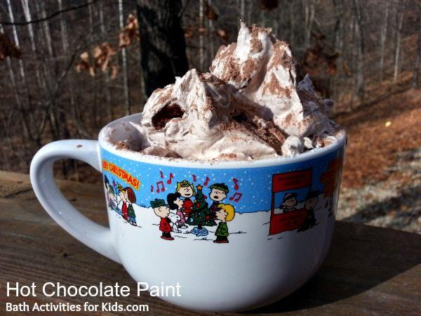 Bath Activities for Kids: Hot Chocolate Bath