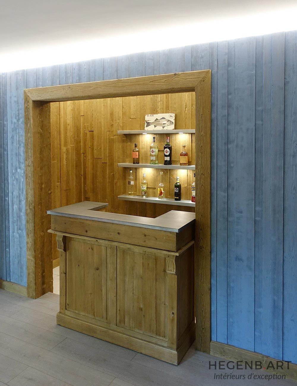Espace Atypique Aix En Provence bar vintage pour un espace apéritif étonnant | habillage