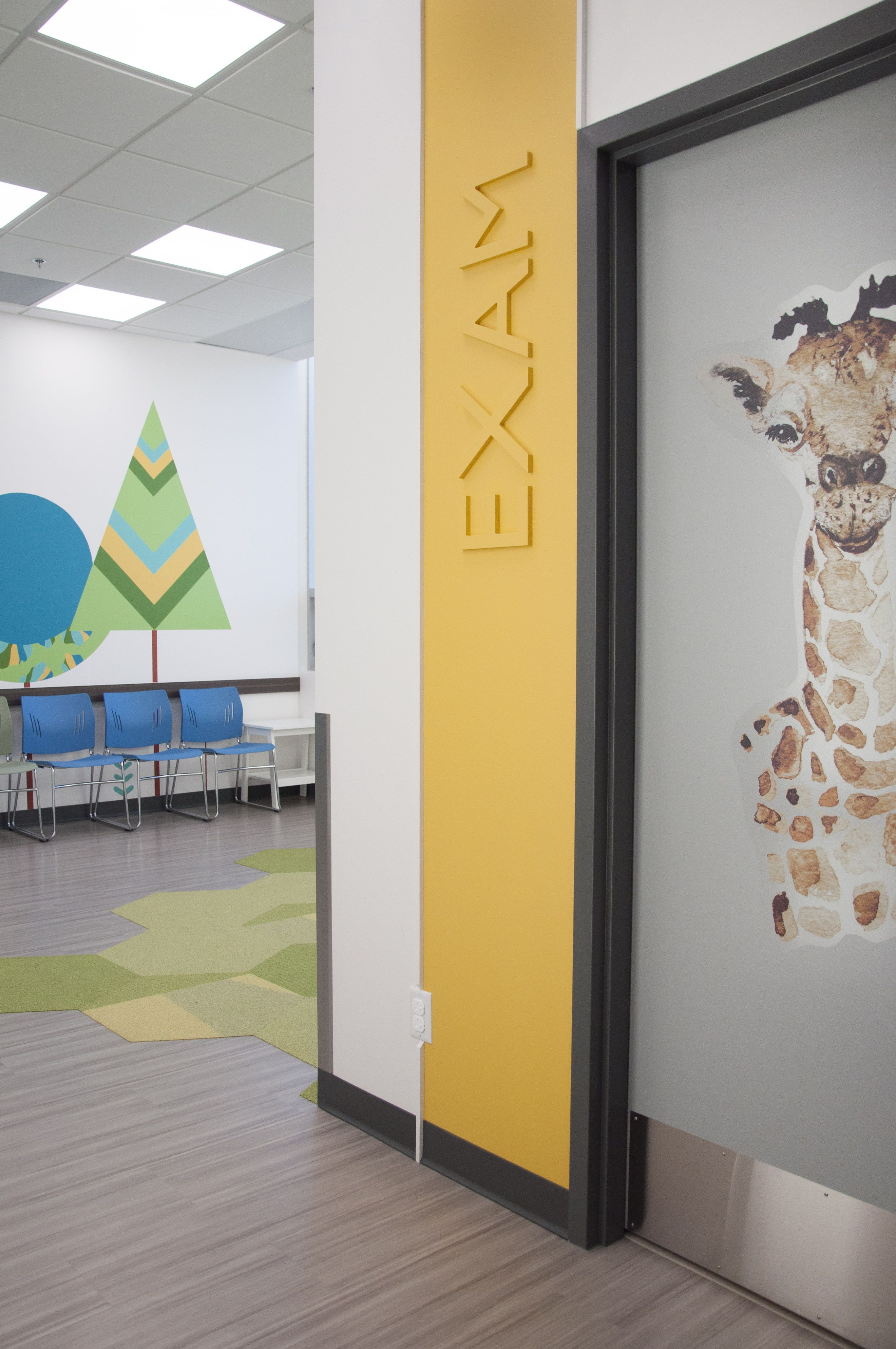 Pediatric Clinic Design In Edmonton Canada In 2020 Clinic Design
