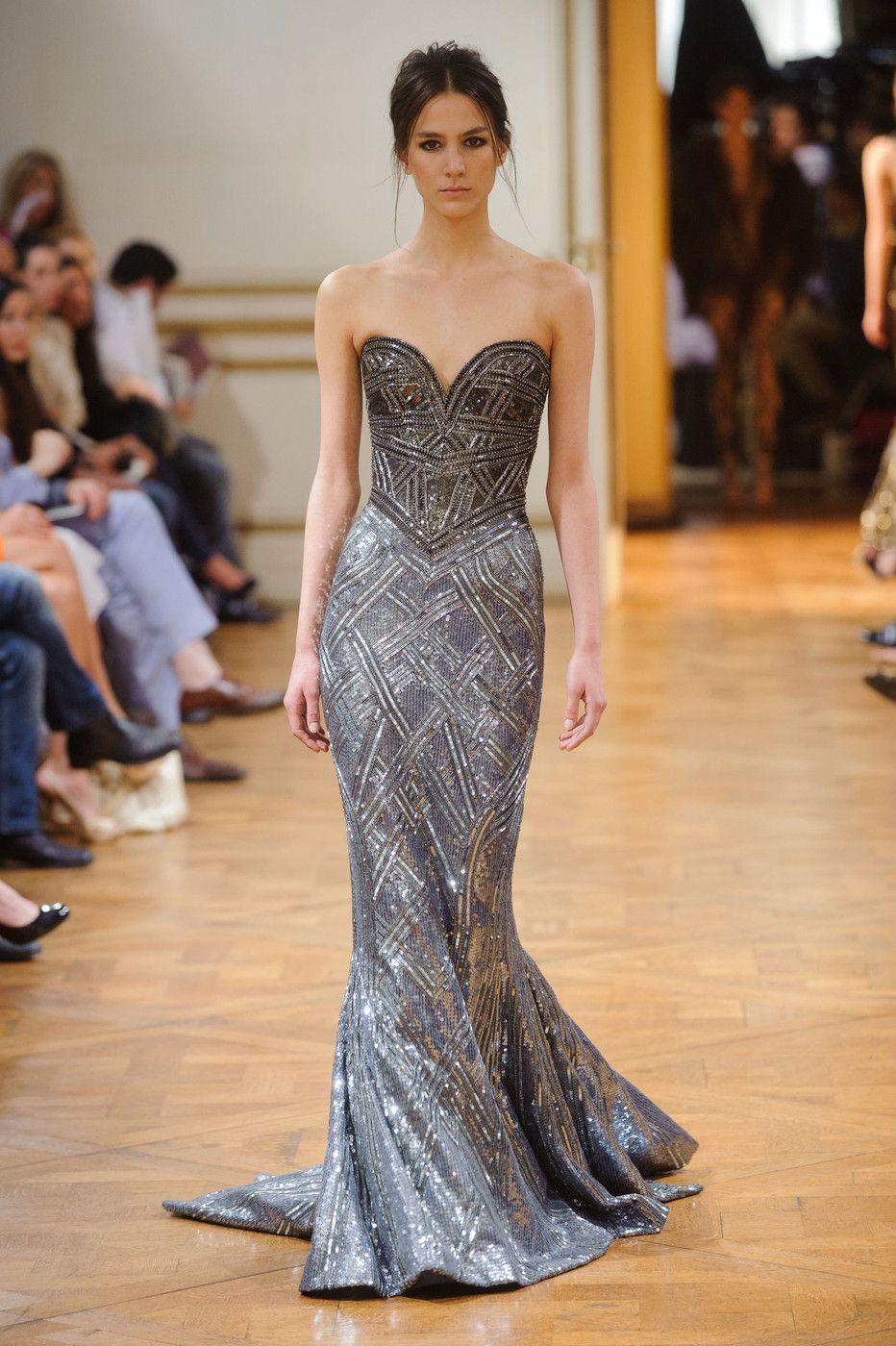 Long sweetheart dress zuhair murad omg i love these dresses