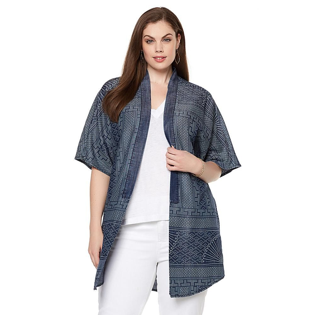 Melissa mccarthy seven tibetprinted kimono tan melissa