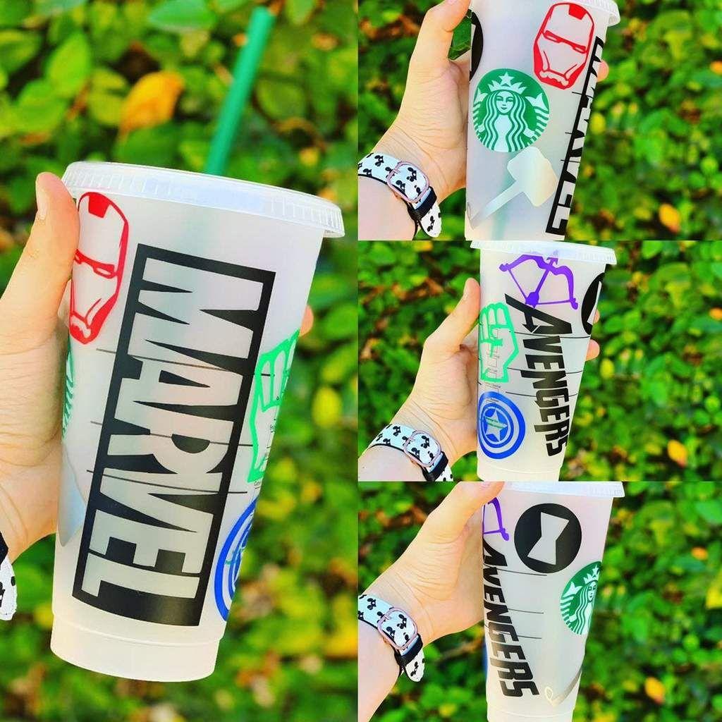 Marvel Avengers Starbucks Cup