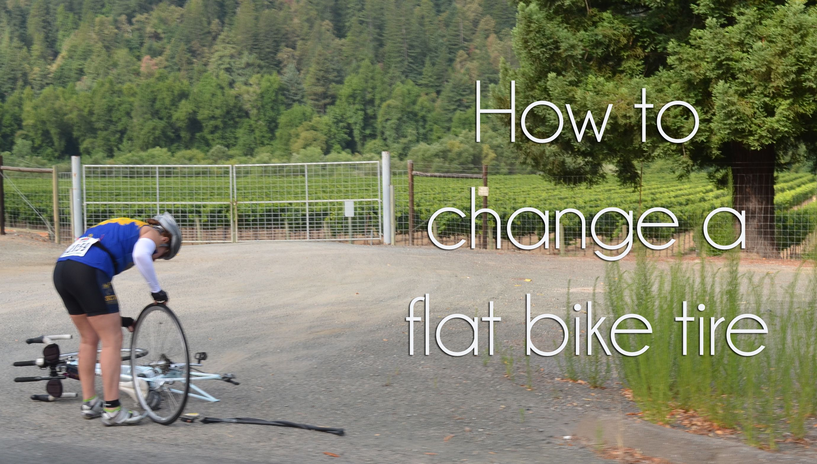 Triathlon Training 101 How To Change A Flat Bike Tire Cycling