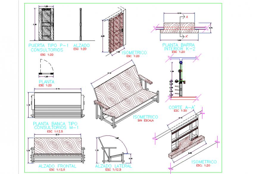 Making Sofa Detail Plan Elevation Section Design Detailed Plans Sofa Set Corner Sofa Set