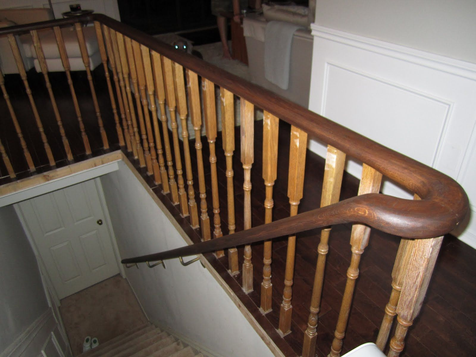 Best Oak Stairs By Jake Rivera On Stairs Stairs Staining Stairs 640 x 480