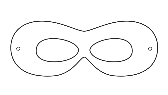 photo about Superhero Template Printable identified as Superhero Printables superhero topic Superhero mask