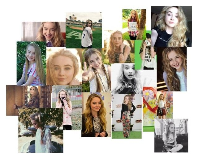 """""""Sabrina Carpenter"""" by my-digital-escape-kinda-girl ❤ liked on Polyvore featuring art"""