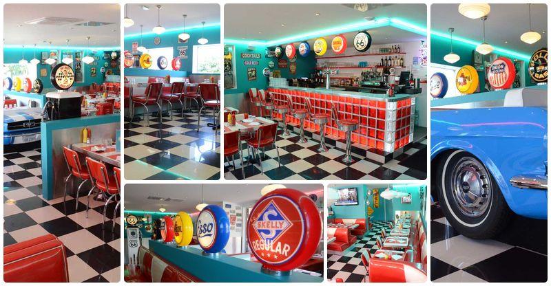 Us Planet / Froomy\'s American Diner. Magnifique décoration pour ce ...