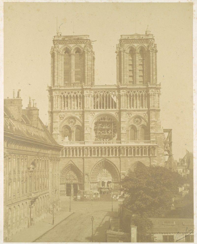 Notre Dame de Paris 1850 2